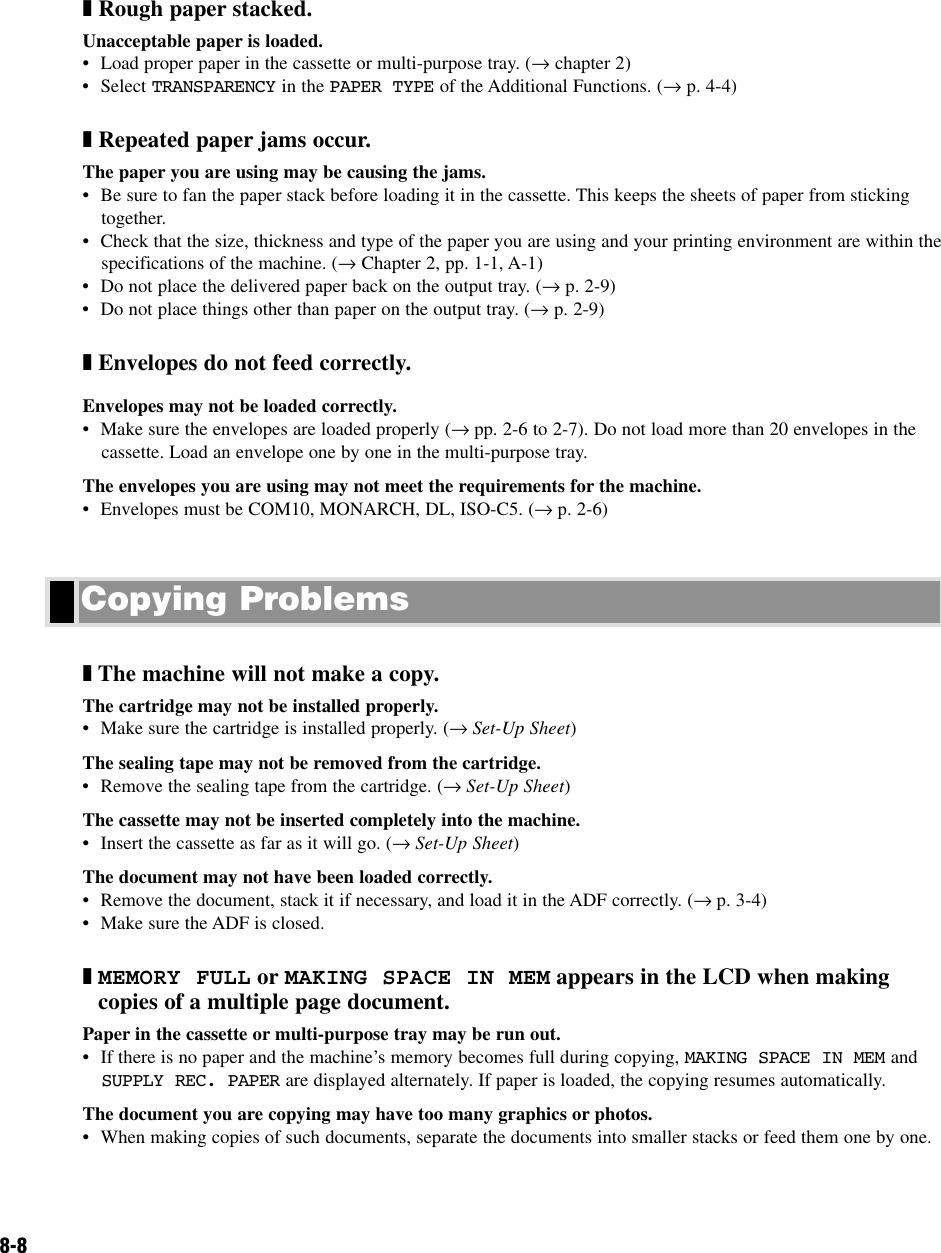 Canon Printer D320 Users Manual