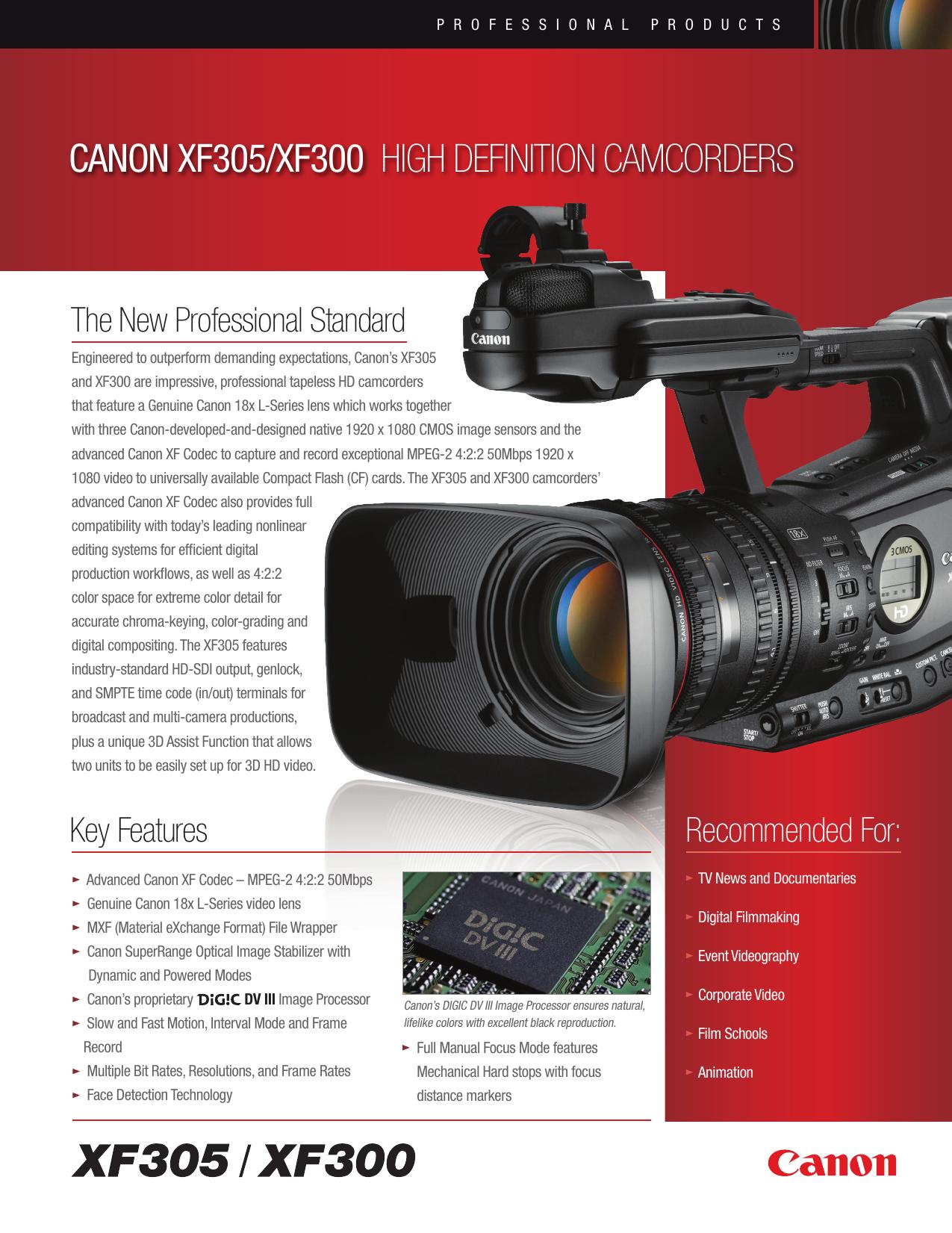 canon xf300 manual pdf