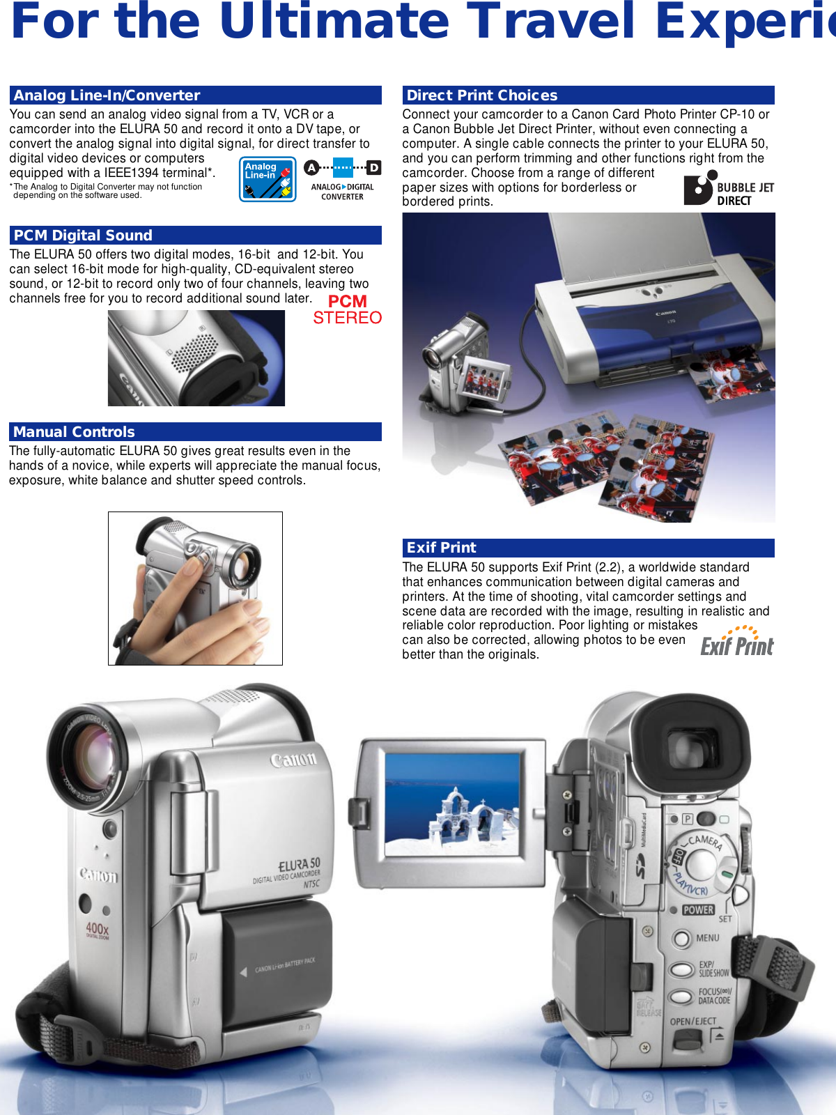 canon elura 50 elura2 mc user manual to the d66bead3 ab60 48be b039 rh usermanual wiki Canon Elura 60 Camcorder Canon Camcorder Elura 80