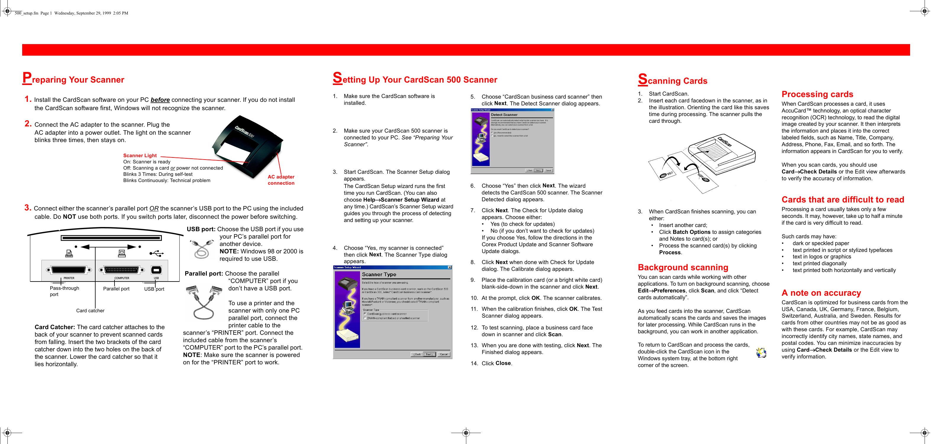 cardscan 500 users manual 500 setup rh usermanual wiki CardScan Software DYMO CardScan Executive