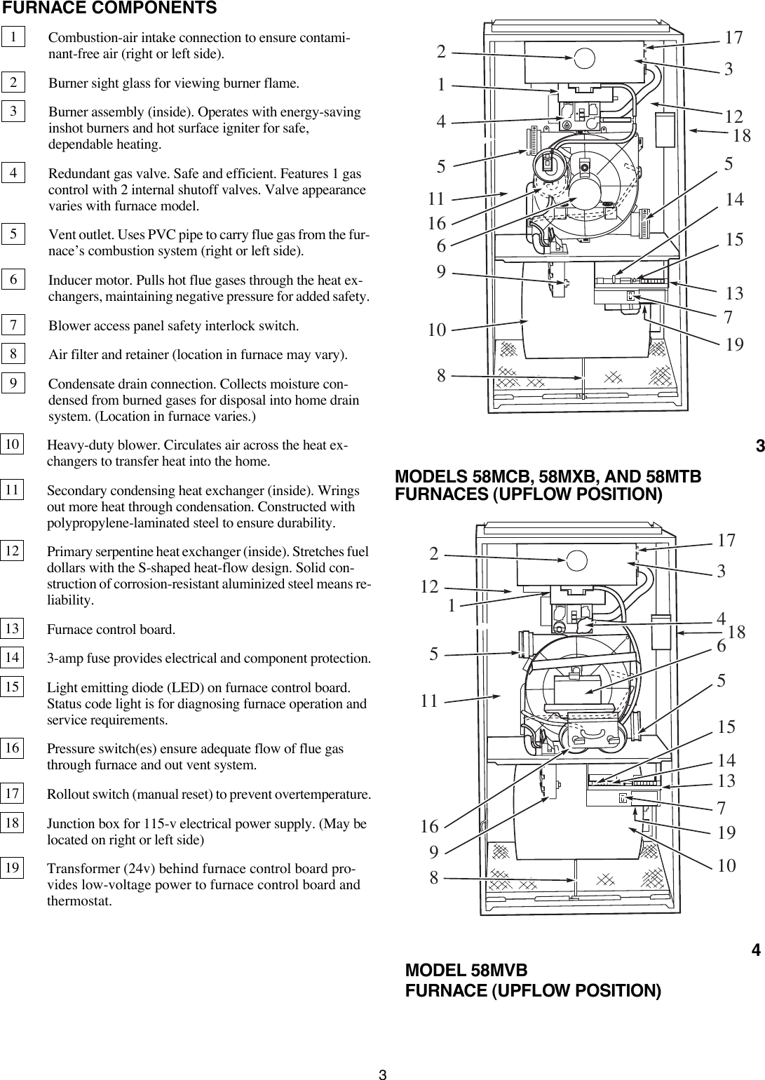 Carrier 58Mcb Users Manual