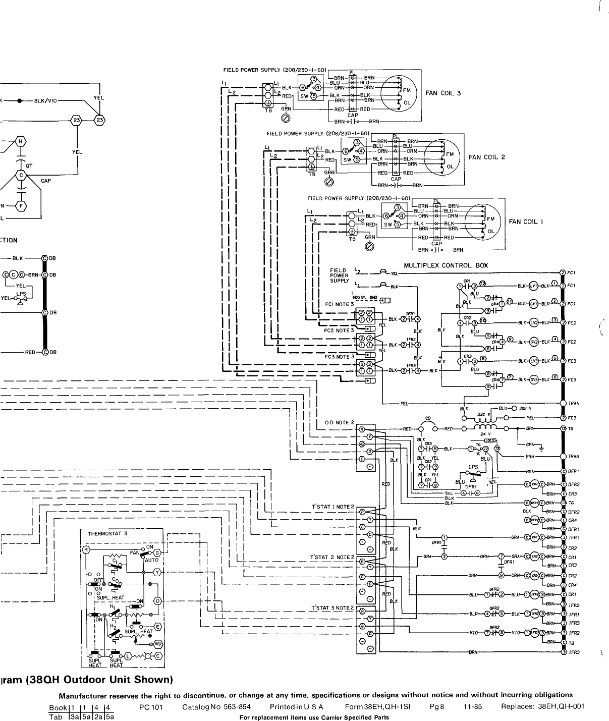 condensing unit schematic carrier air cooled condensing unit 38eh users manual  carrier air cooled condensing unit 38eh