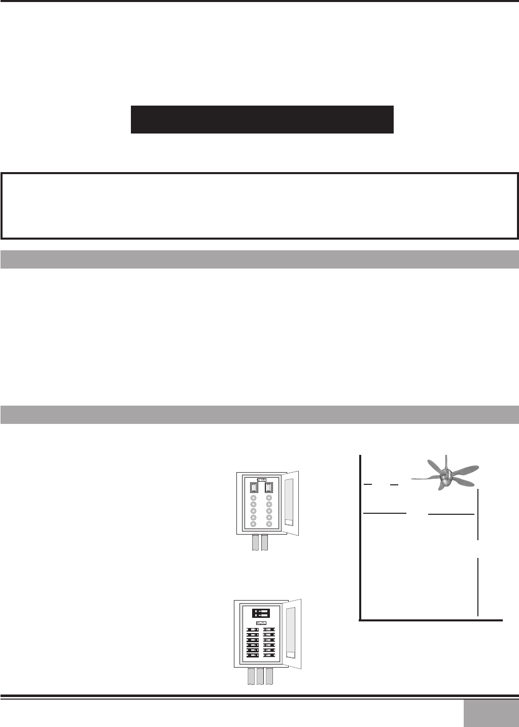 Casablanca Fan Company Modena Ii C10gxxm Users Manual Switch Wiring Diagram