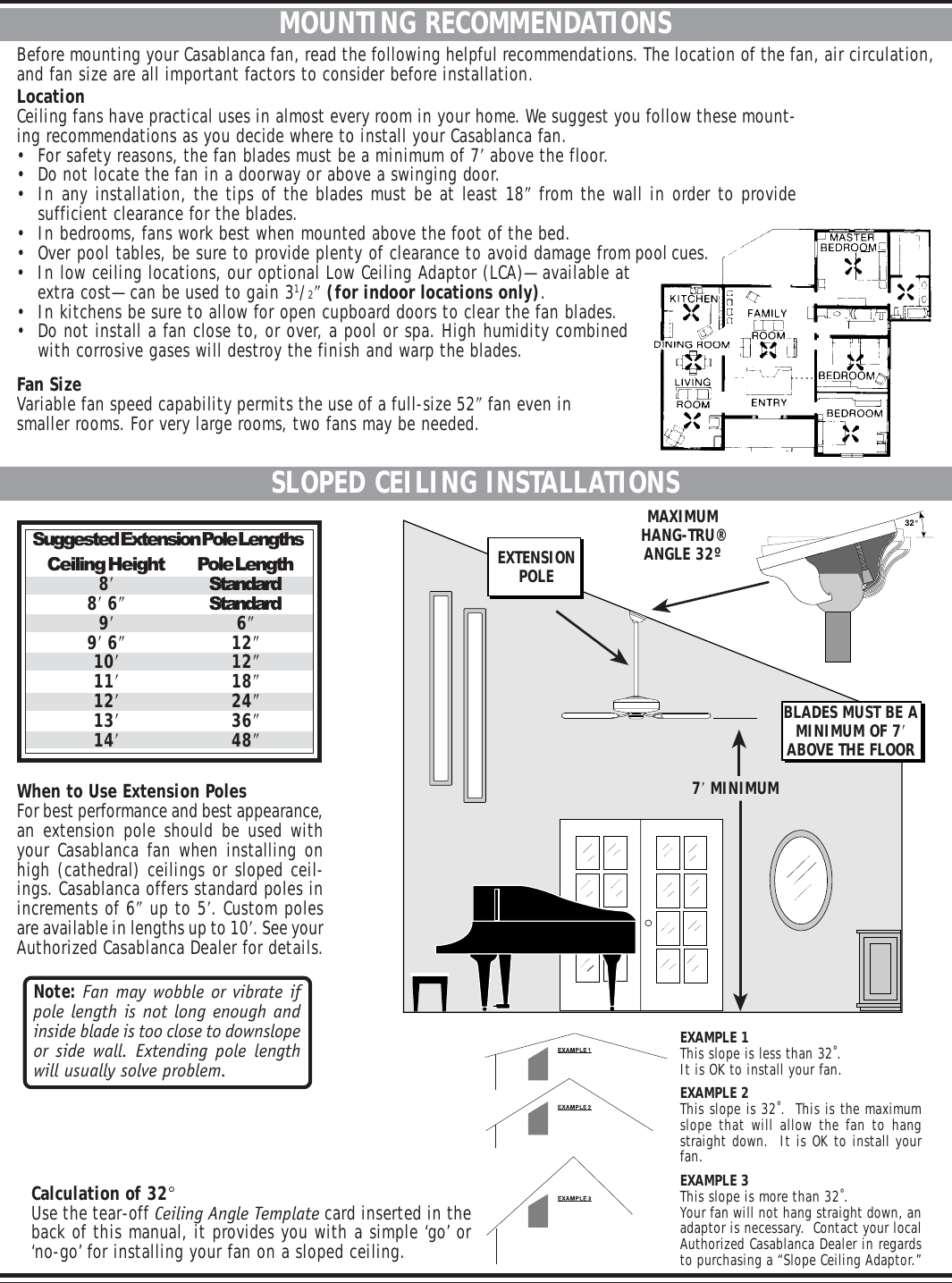 Casablanca Fan Company Wailea Ceiling 41uxxd Users Manual Wiring Diagram Page 2 Of 10