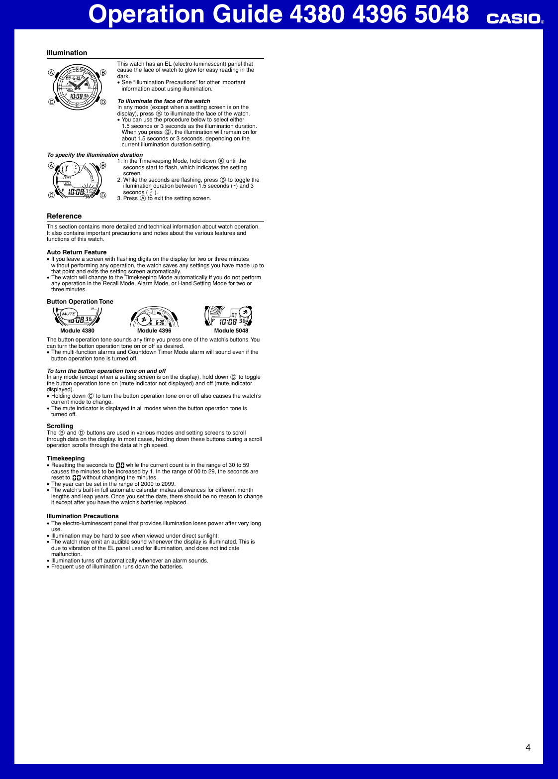 casio aq164w 1av operation manual qw 4380 4396 5048 rh usermanual wiki 4396 Indian Trail Memphis TN Walgreens 4396