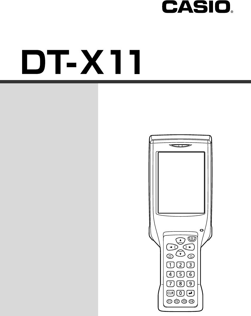 CASIO DT X11M10E DRIVER