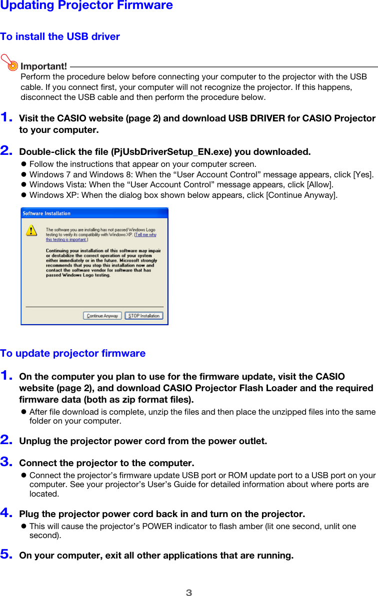 Casio Flash Loader Firmware_Update_Guide_EN Firmware Update