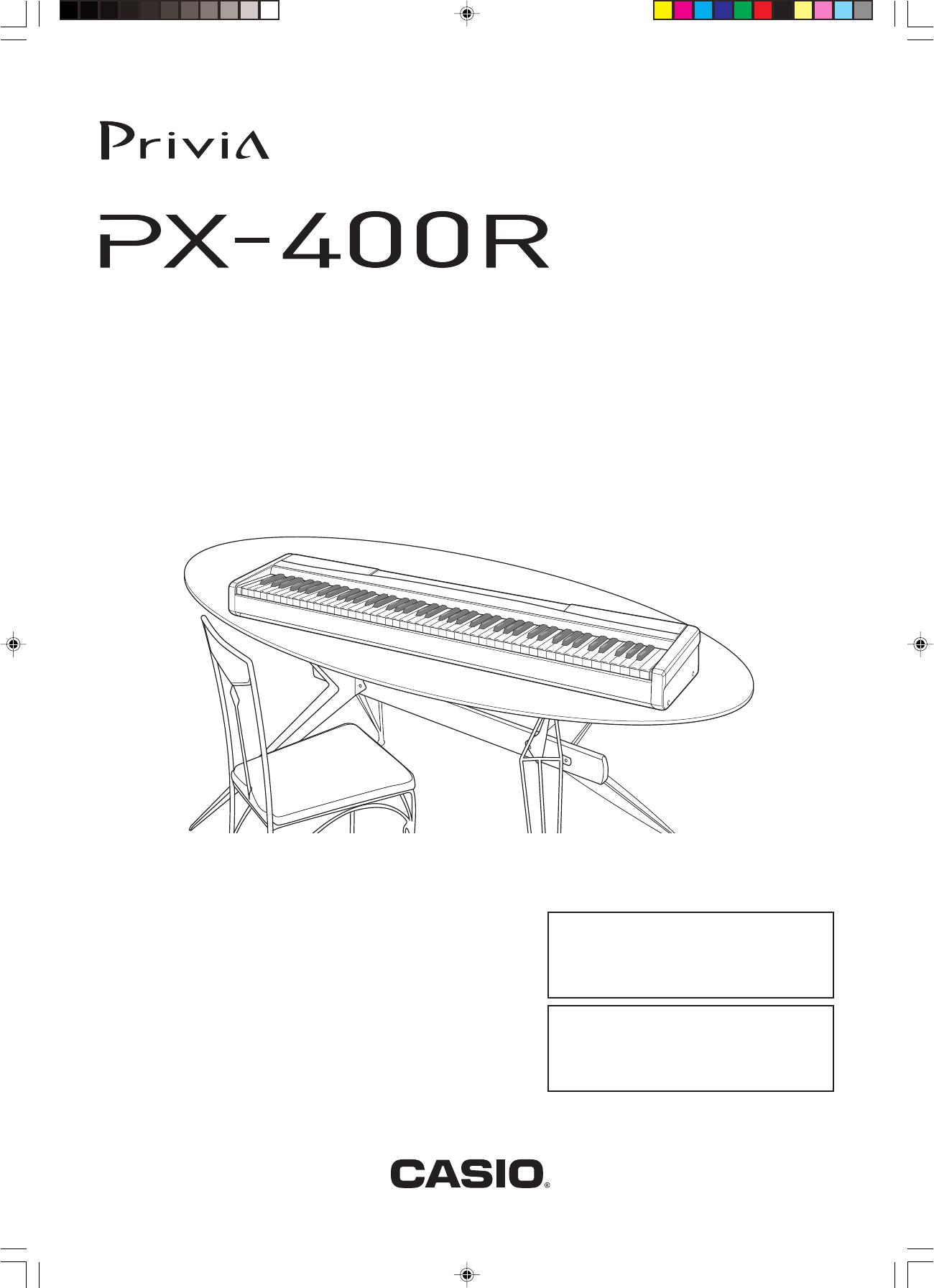 Casio Px400R E