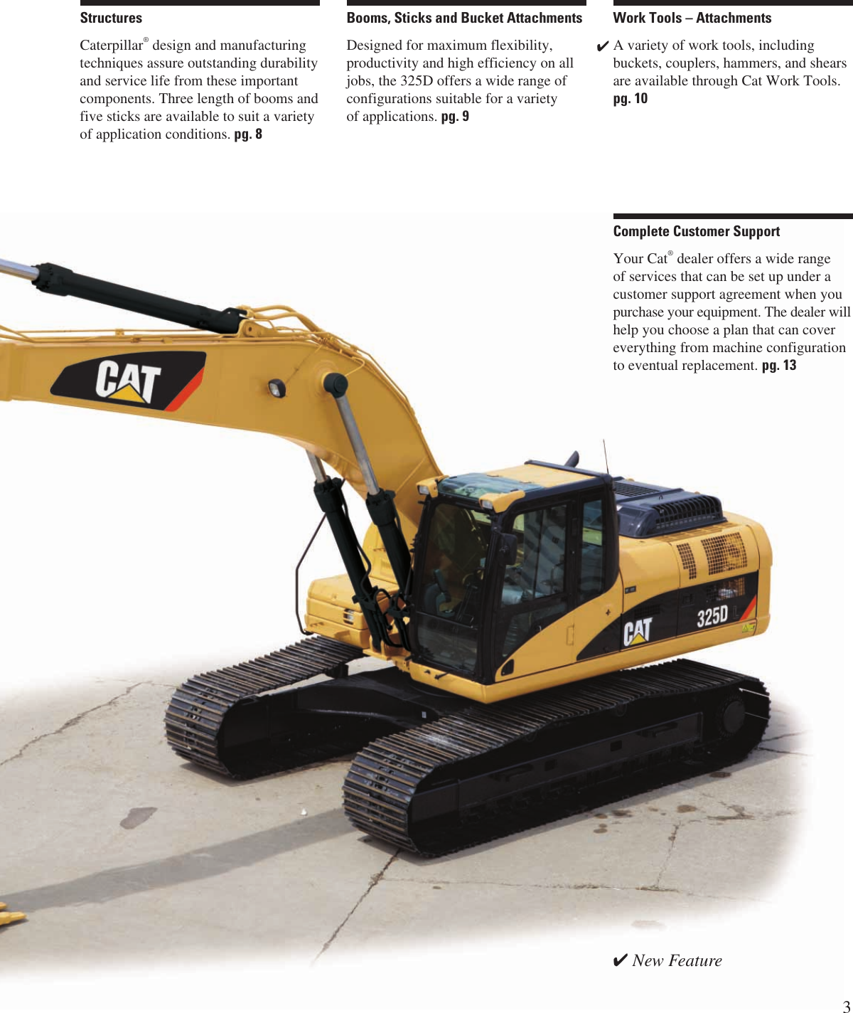 Cat 325Dl Users Manual Specalog For 325D L Hydraulic