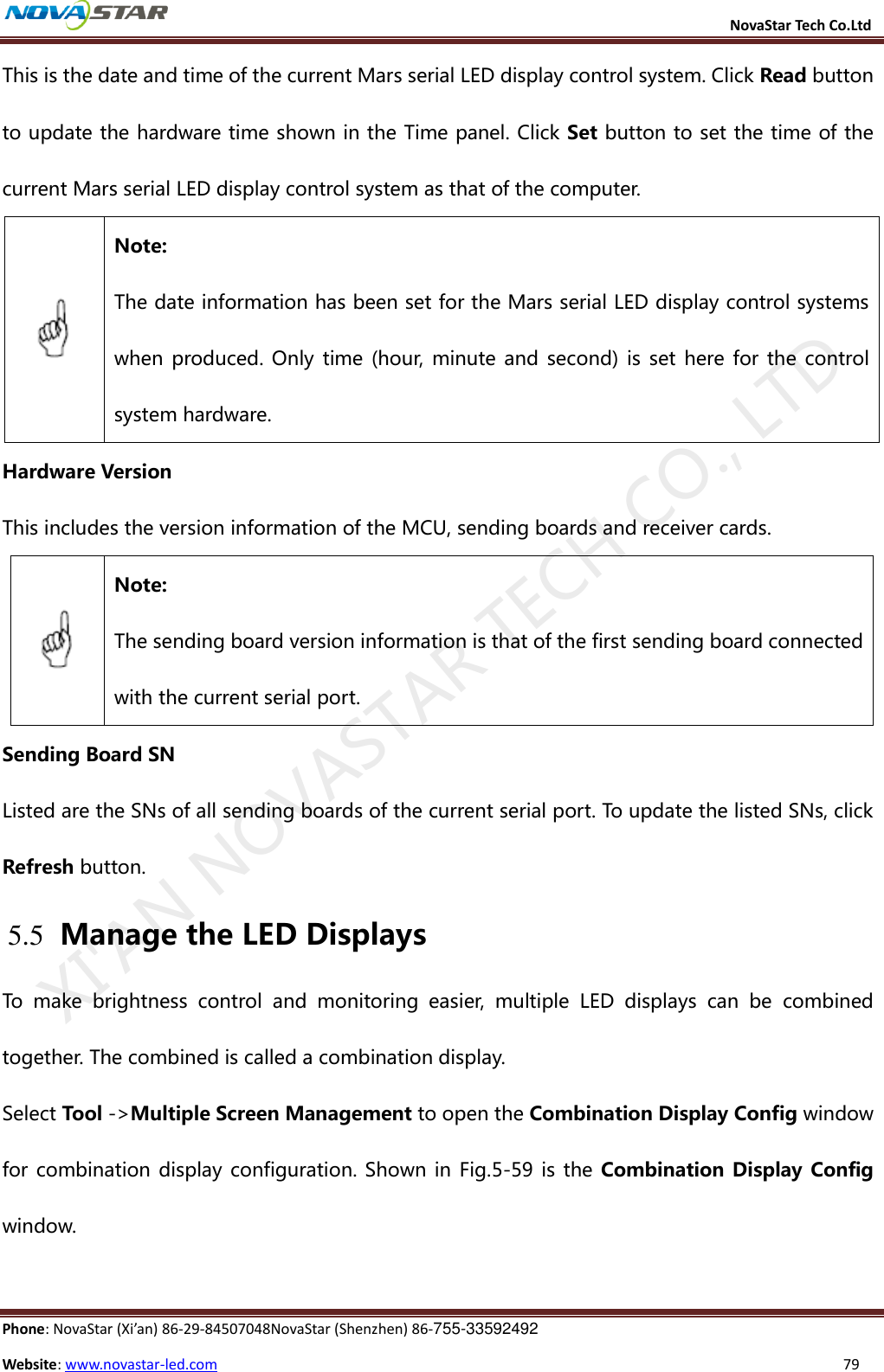 Mctrl300) Nova M3 Led Display Control System User Manual V4 2 5