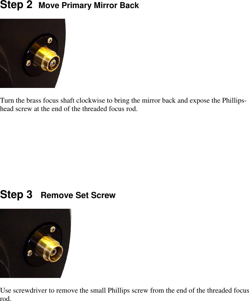 Celestron Feathertouch Sct Microfocuser Users Manual 11 Focuser