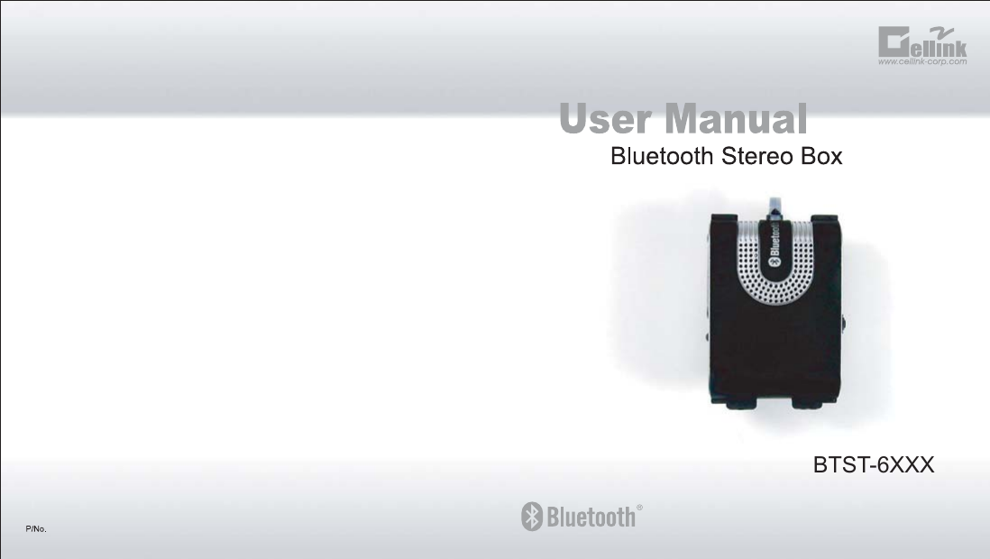 Cellink 4710874204737 Bluetooth Stereo Box User Manual BTST