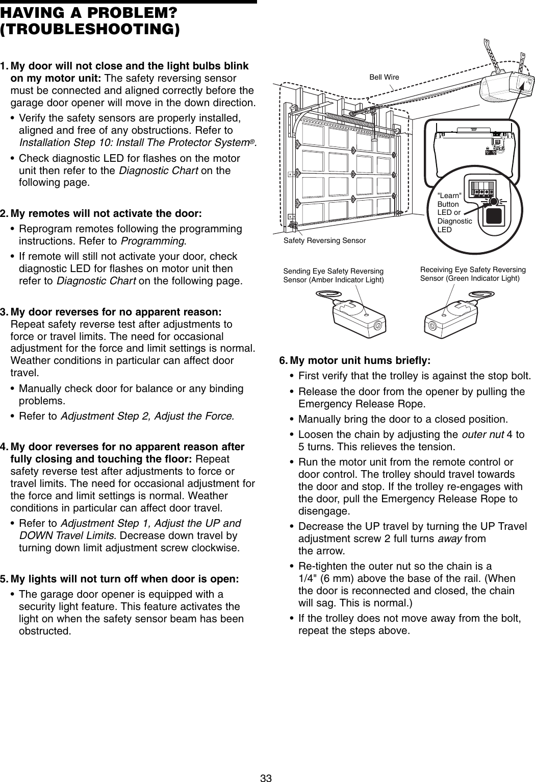 Door Opener Wiring Also Garage Door Safety Sensor Wiring Diagram