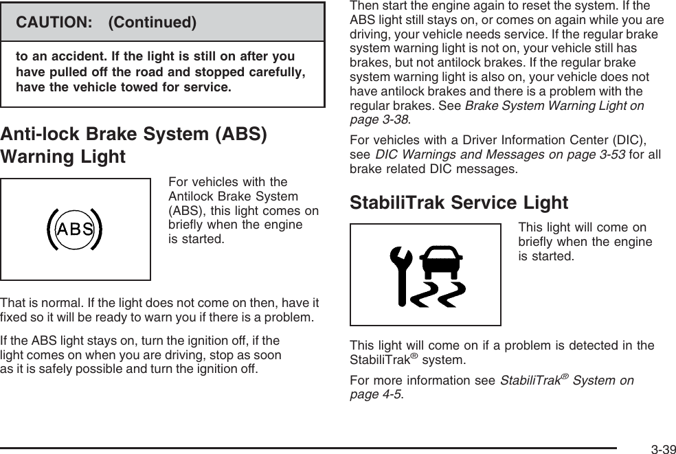 Chevrolet 2008 Trailblazer Owners Manual Owner's