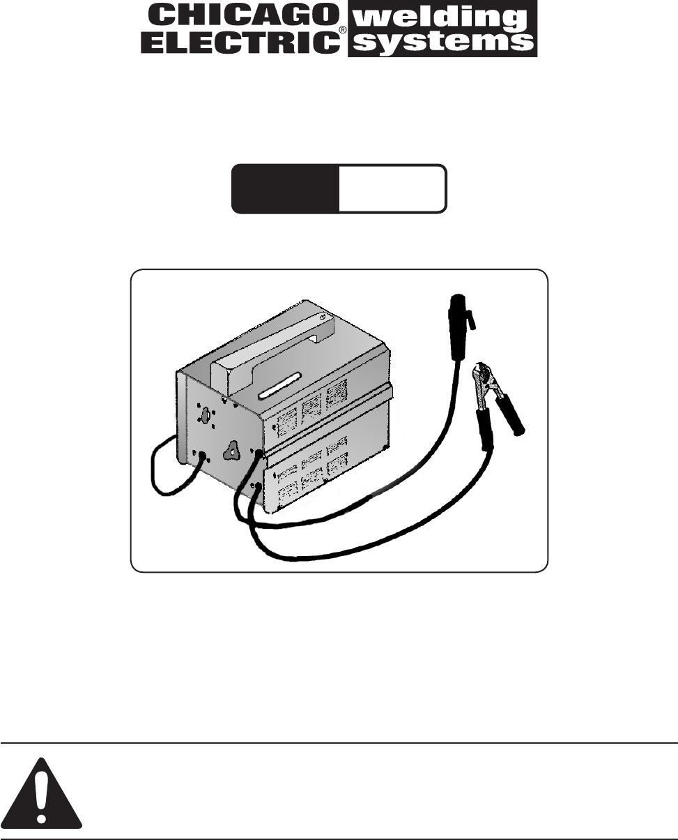 Chicago Electric 40388 Users ManualUserManual.wiki