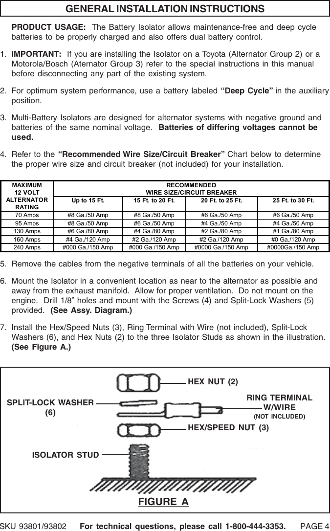Unique Breaker To Wire Size Chart Ensign - Electrical and Wiring ...