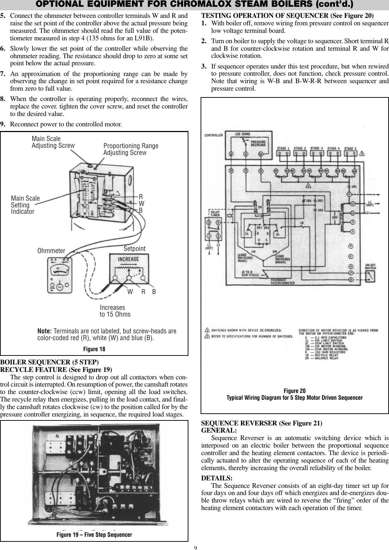 Chromalox Pq404 6 Users Manual Print Wiring Diagrams Page 9 Of 12