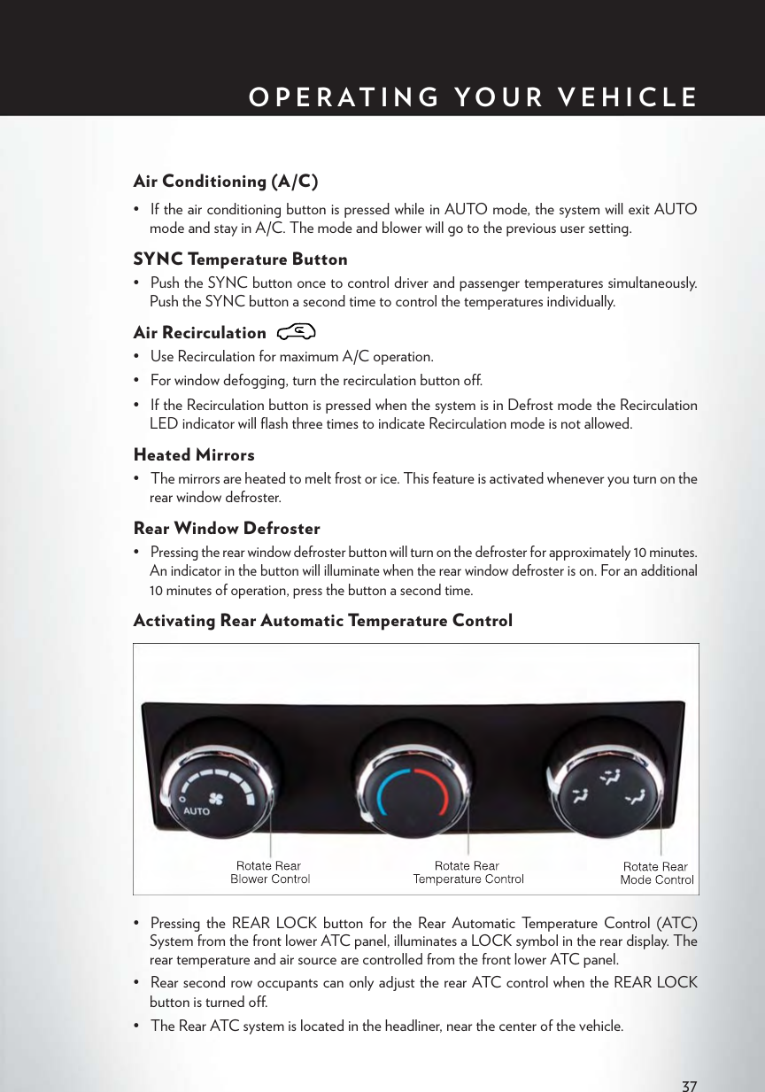 Chrysler 2013 Town And Country User's Guide Owners Manual