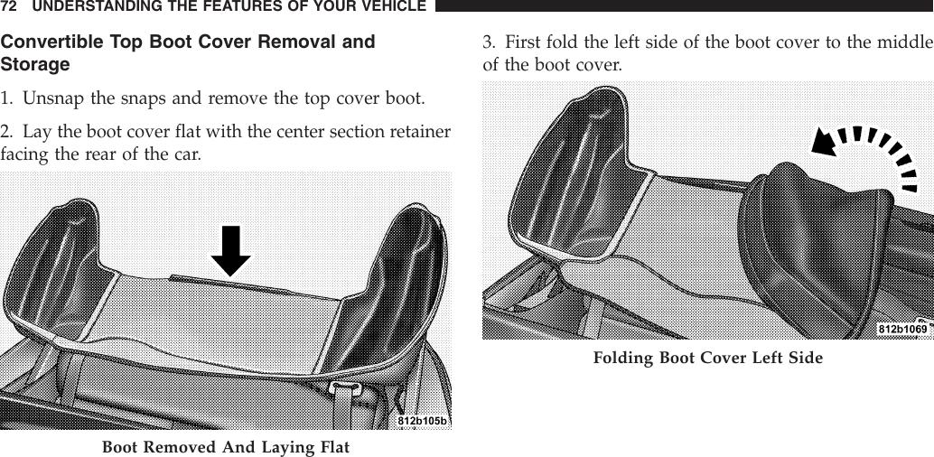 Chrysler 2005 Pt Cruiser Convertible Owners Manual