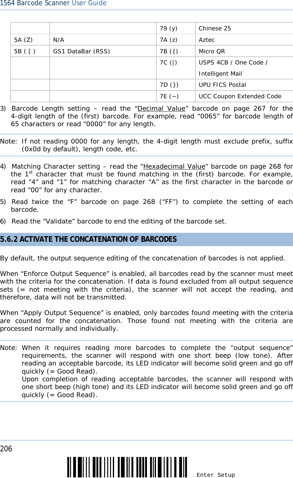 CipherLab 1564A BT Barcode Scanner User Manual