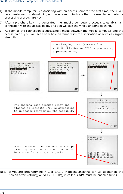 Cipherlab 8770 Mobile Computer User Manual 8700 Series