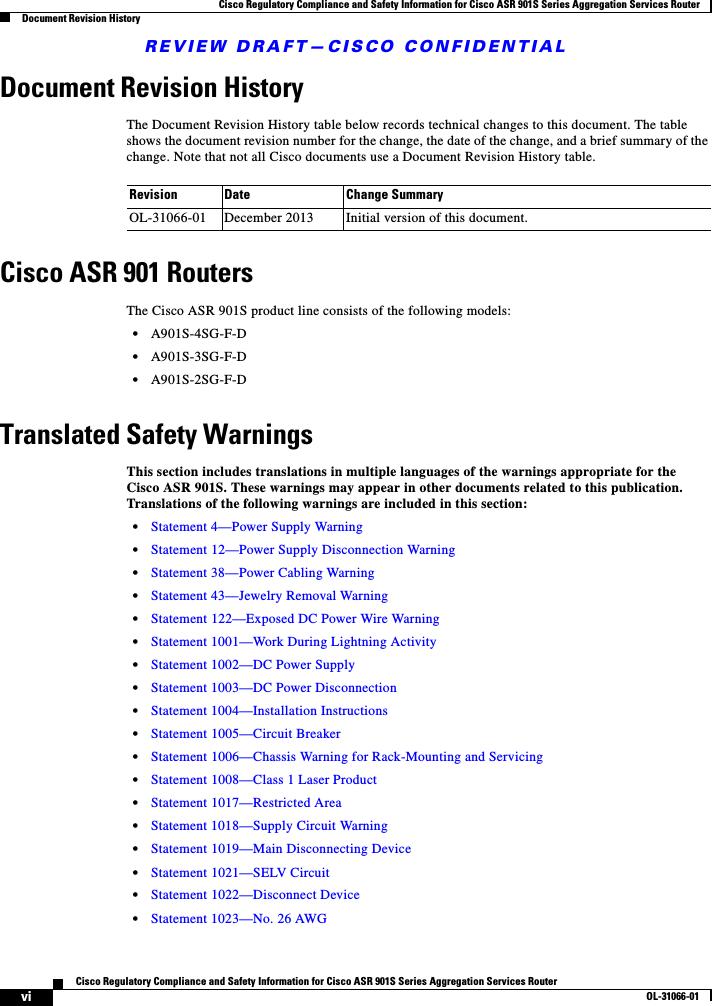 Cisco Systems AGORA0916 ASR 901S Series Aggregation Services