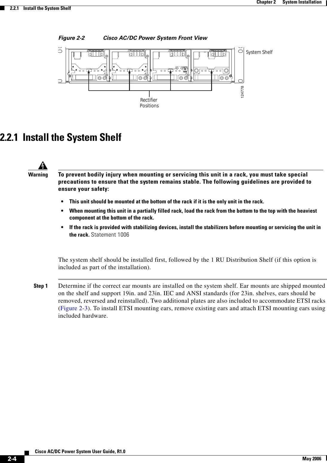 CISCO CSCO-SM-PWR-SA CSCO AC//DC Pwr Sys Shelf includes