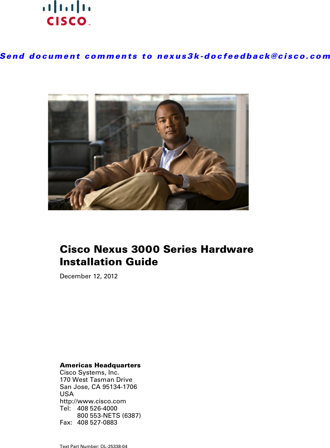 Cisco Systems 3524 N3Kc3524P10G Users Manual