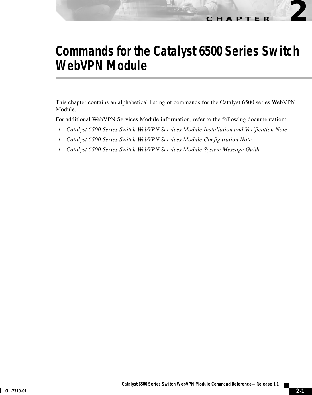 Cisco Systems 6500 Users Manual Comref