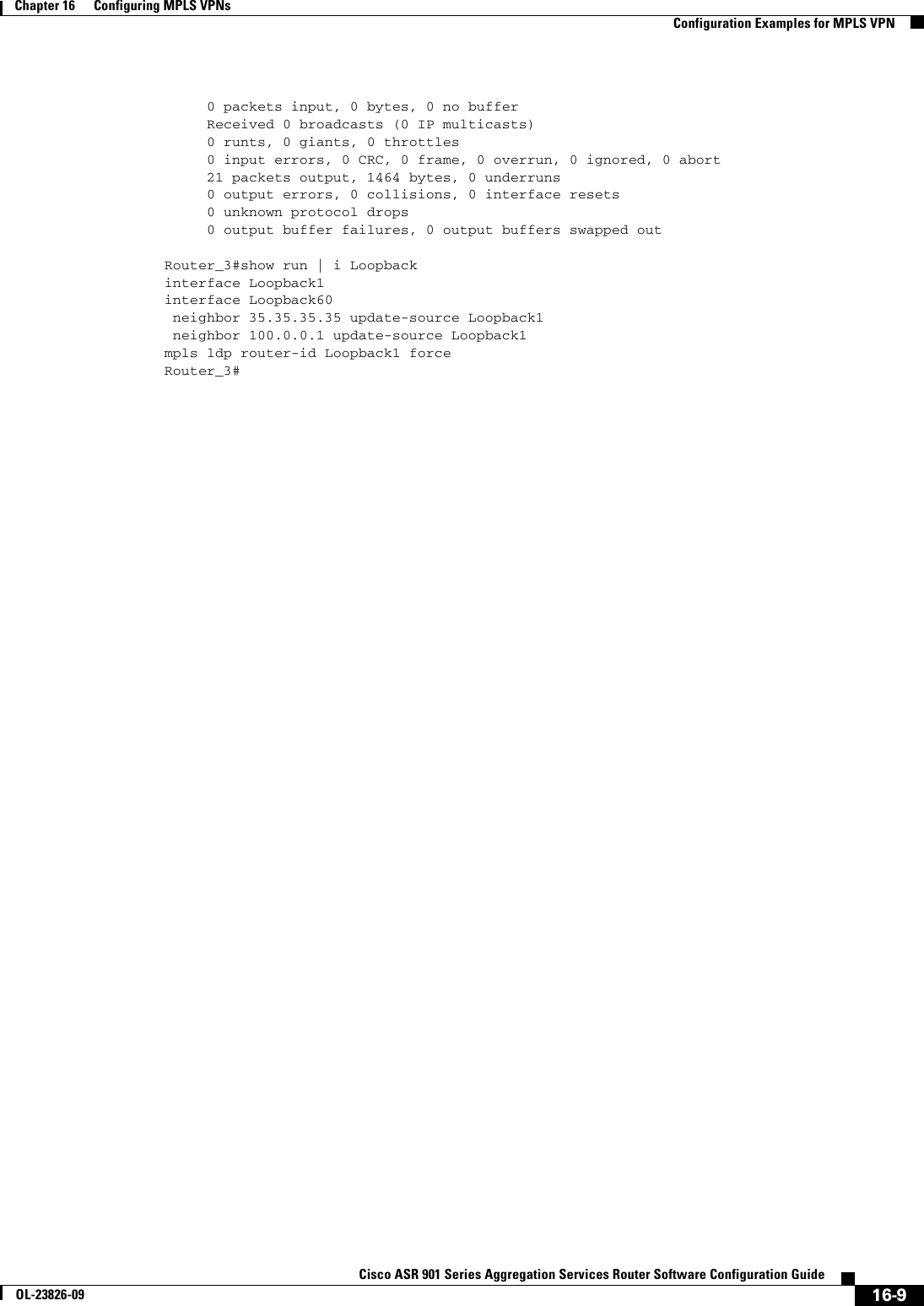 Cisco Gigabit Ethernet Interface Resets