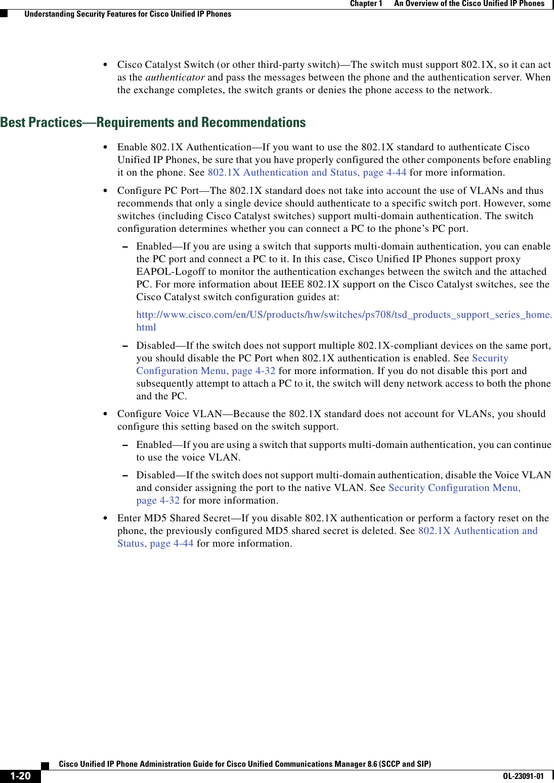 Cisco Systems Administration 8 6 Users Manual Unified IP