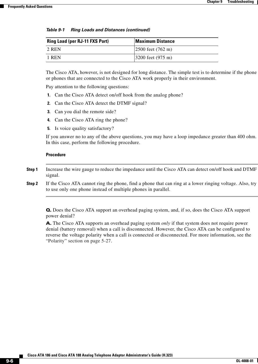 Cisco Systems Ata 188 Administrators Guide