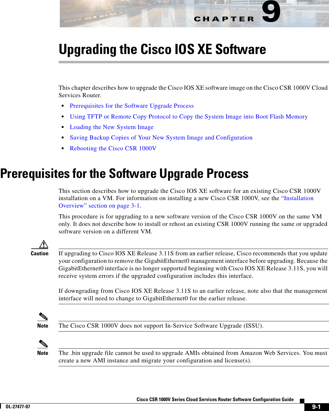 Cisco Systems Csr 1000V Users Manual Series Cloud Services