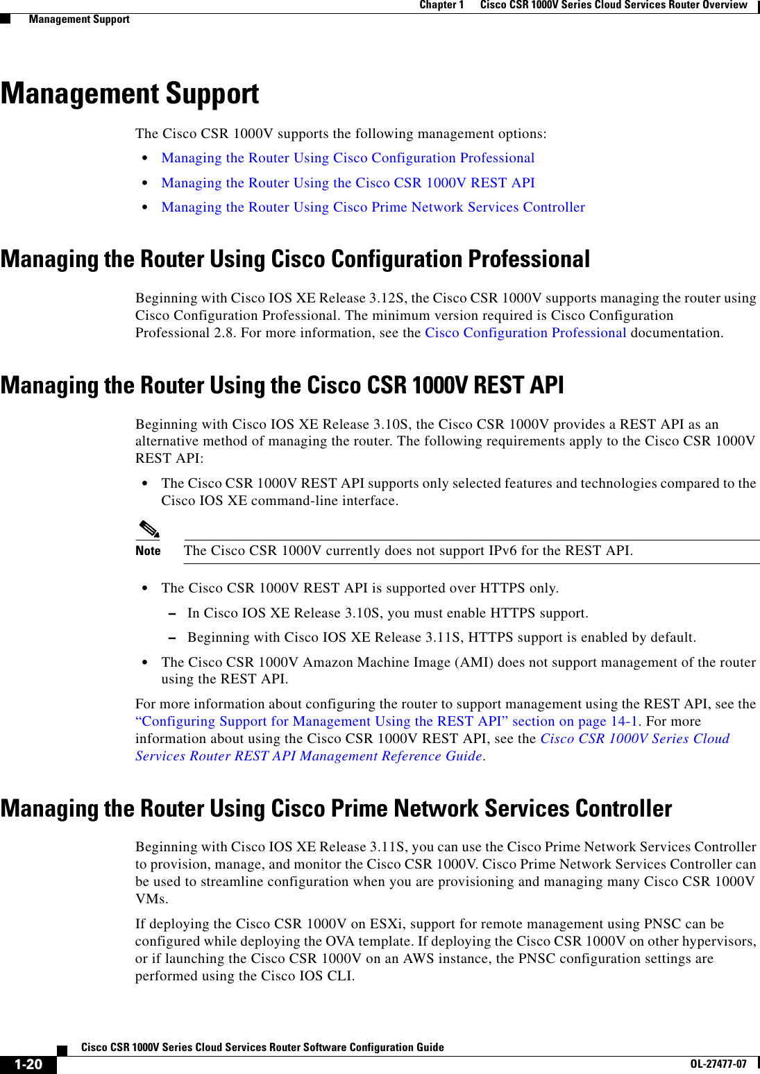 Cisco Csr Ipv6
