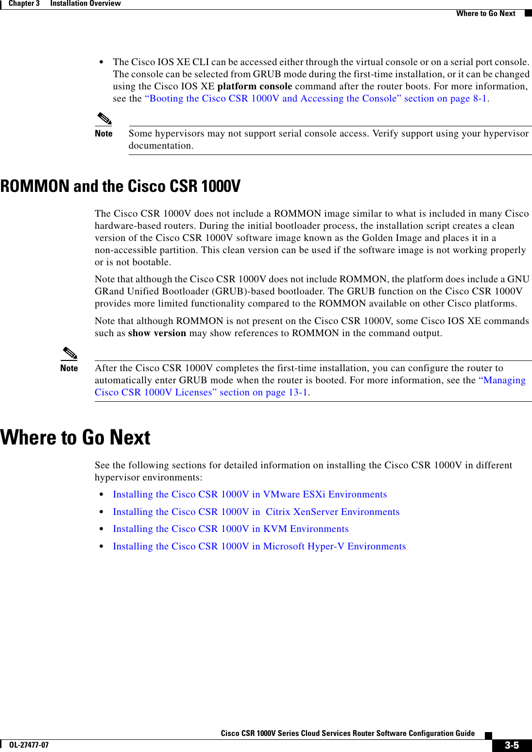 Cisco Systems Csr 1000V Users Manual Series Cloud Services Router