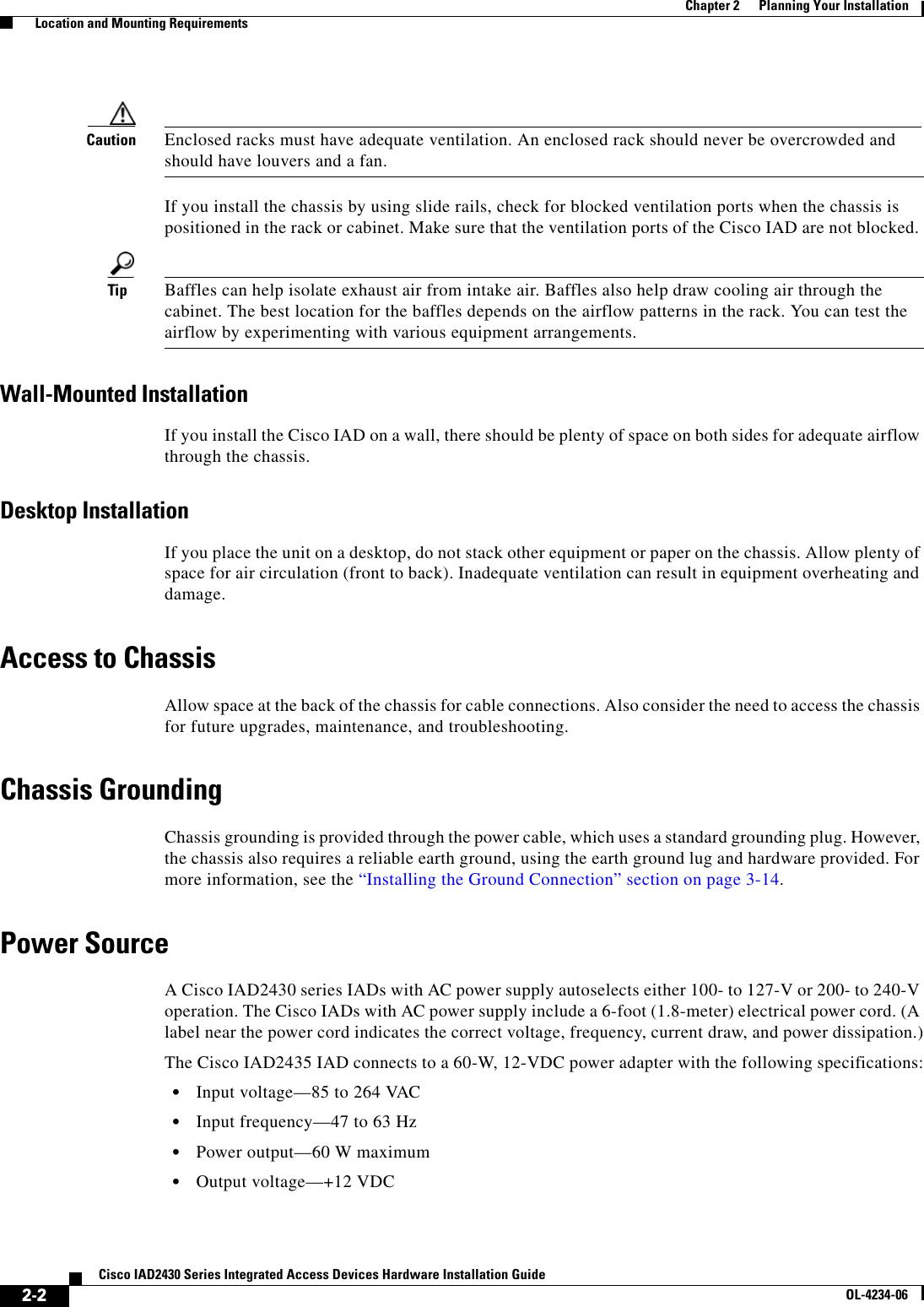 Cisco Systems Iad2430 Users Manual