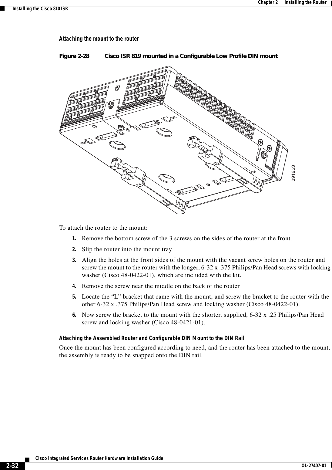 Cisco Systems Integrated Services Router Users Manual 800 Series