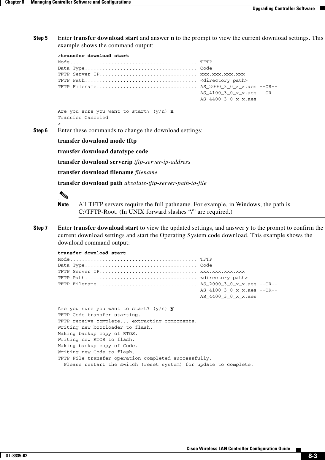 Cisco Systems Ol 8335 02 Users Manual
