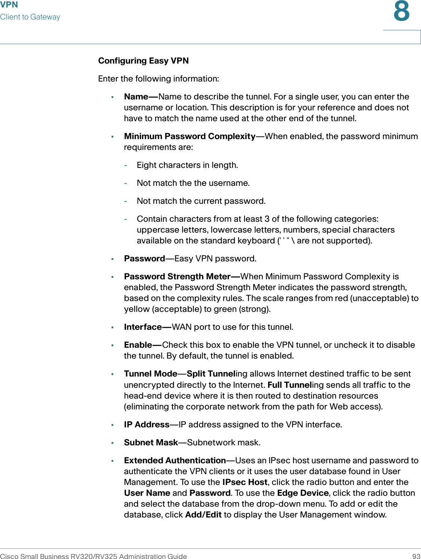 Cisco Systems Rv320K9Na Users Manual Small Business RV320