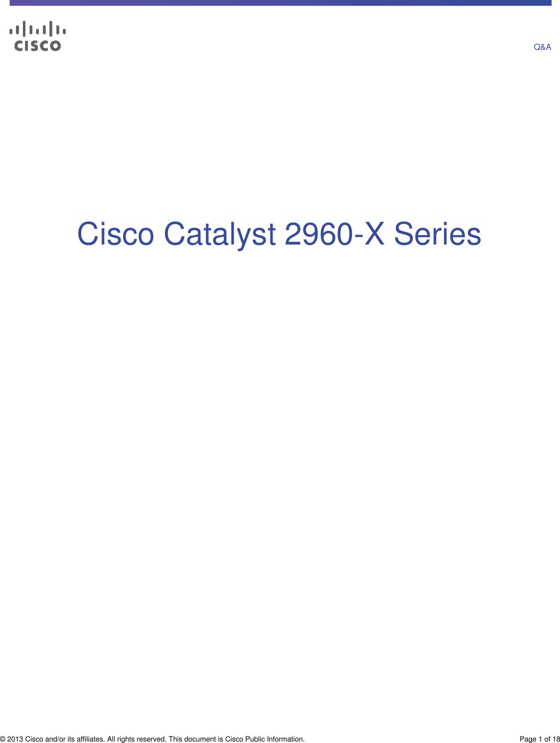 Cisco Systems Wsc2960X48Tsl Users Manual Qa_c67 728348pdf