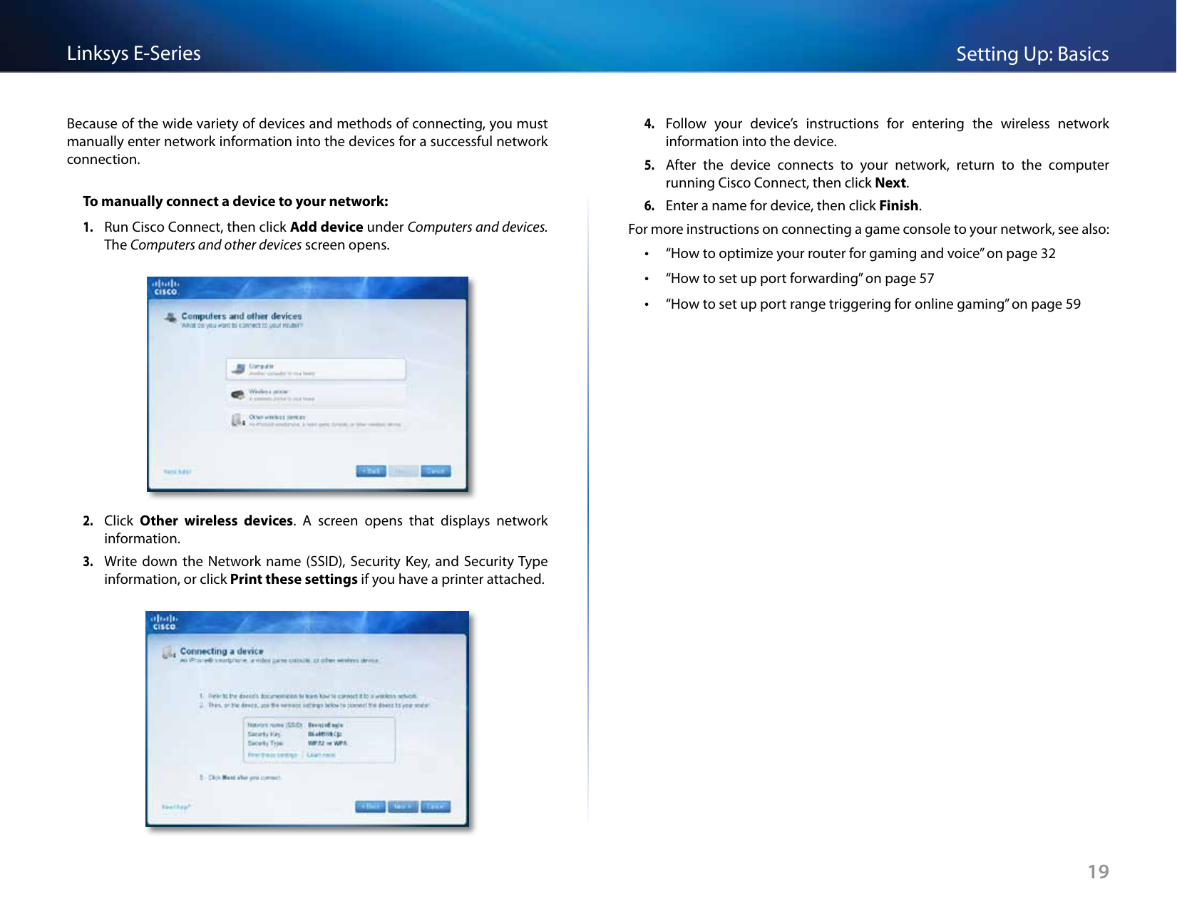 Cisco Linksys E900 Users Manual E Series Routers User Guide