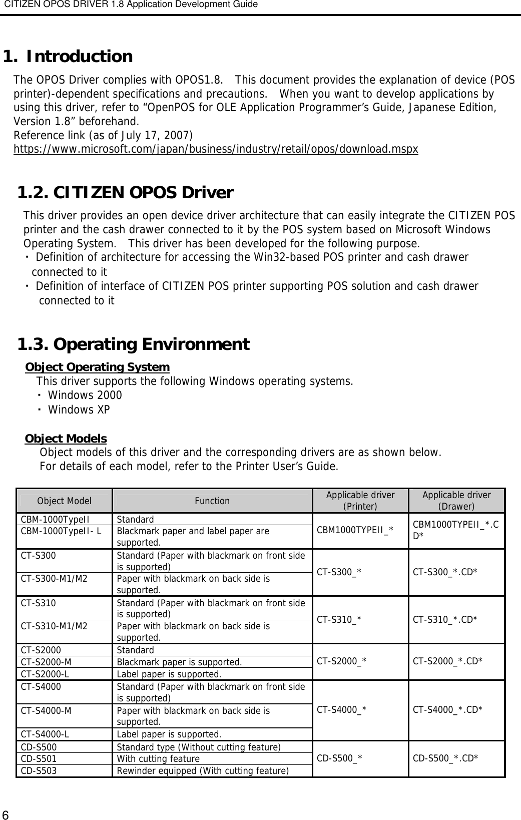 Citizen Systems Network Router 1 8 Users Manual アプリケーション開発