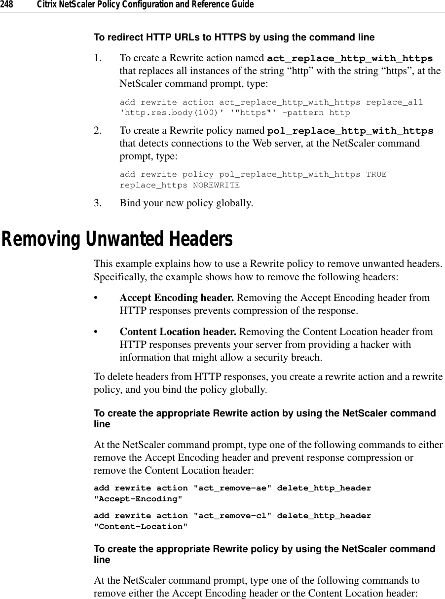 Citrix Systems Network Router 9 2 Users Manual Policy