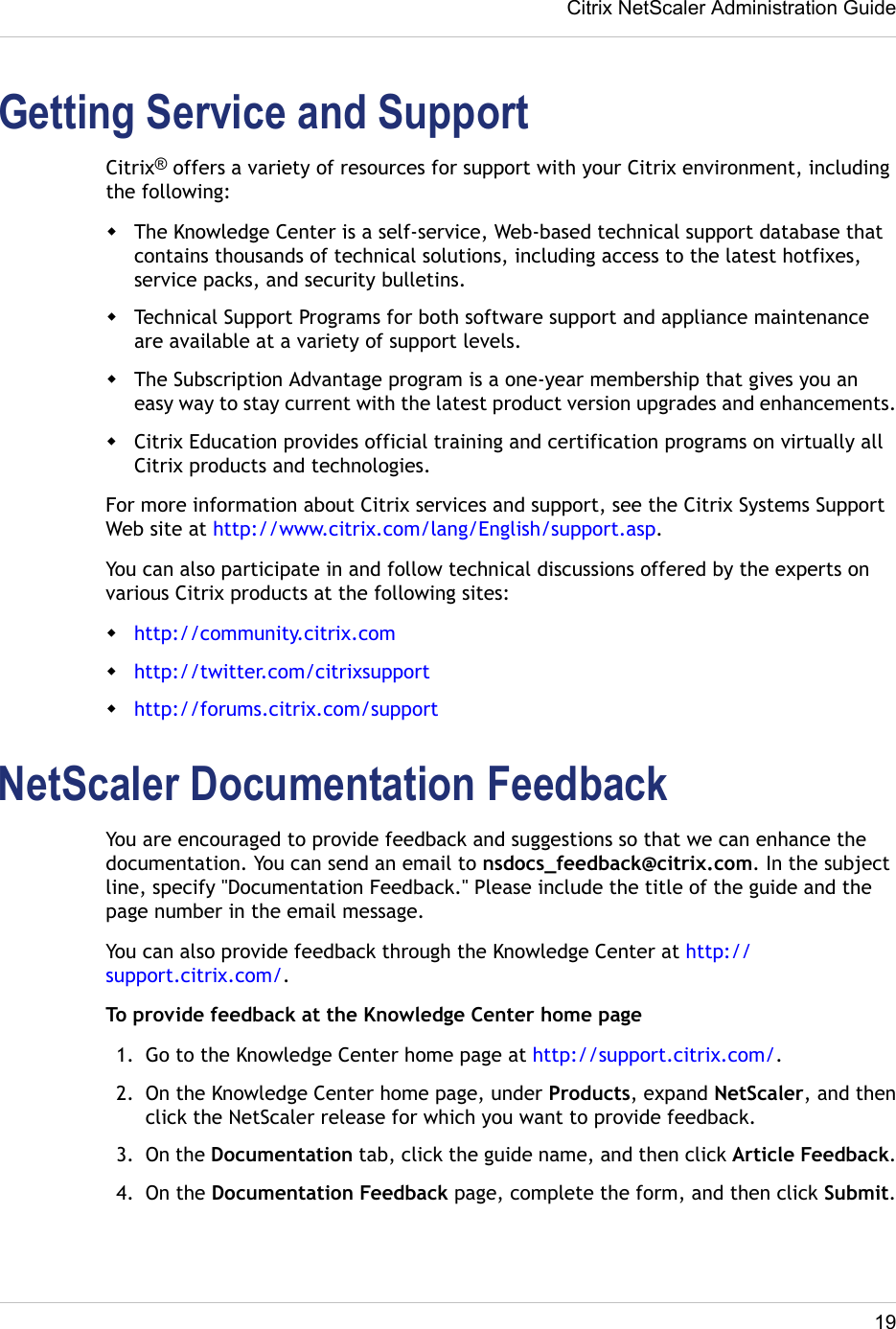 Citrix Systems Network Router Netscaler 9 3 Users Manual
