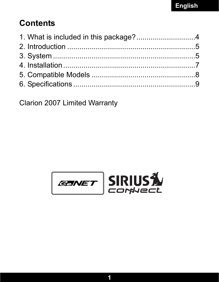 Clarion Dxz765mp Wiring Diagram Free Electrical Diagrams Cla Sc1 Users Manual English V0