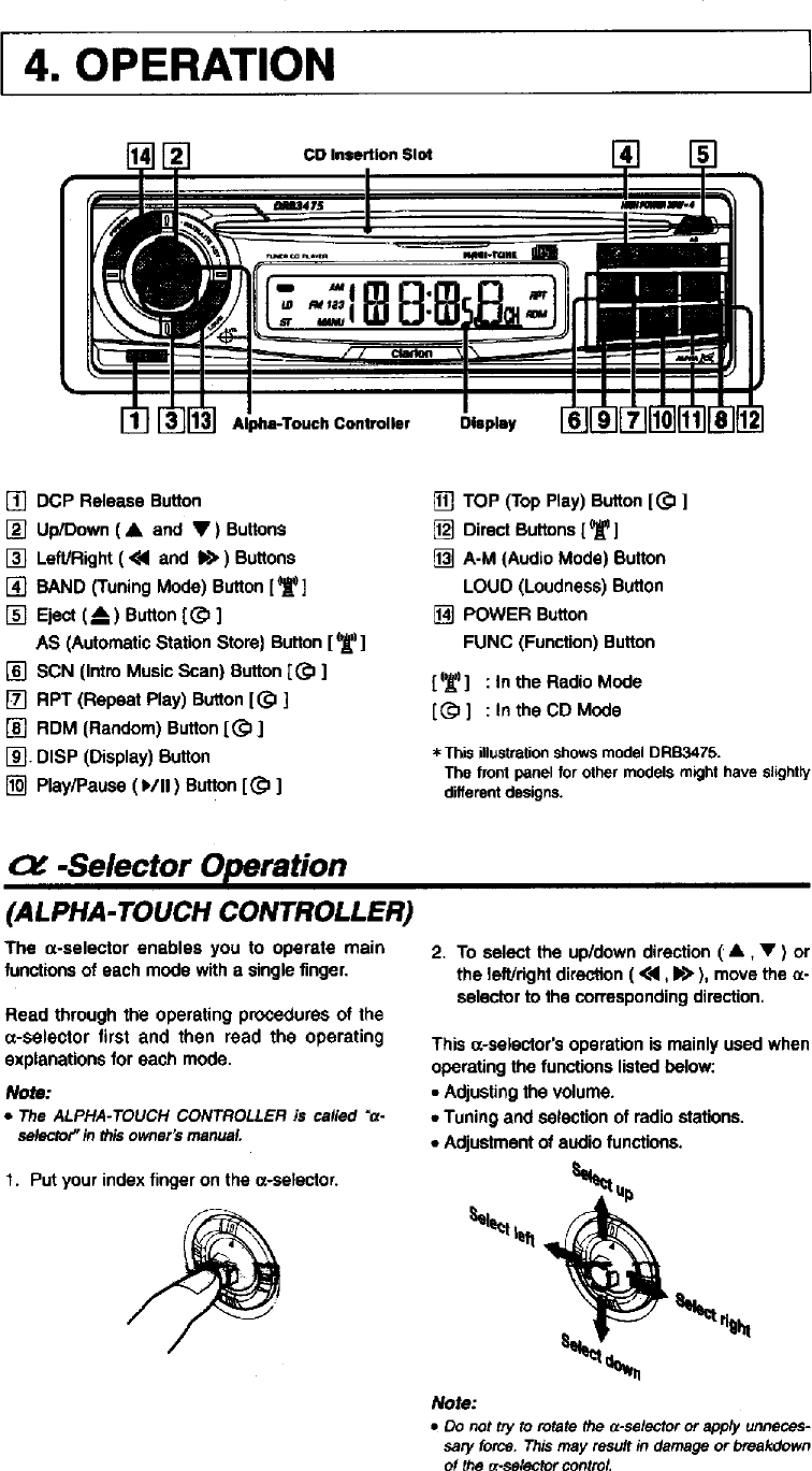 Clarion Drb2475 Wiring Diagram from usermanual.wiki