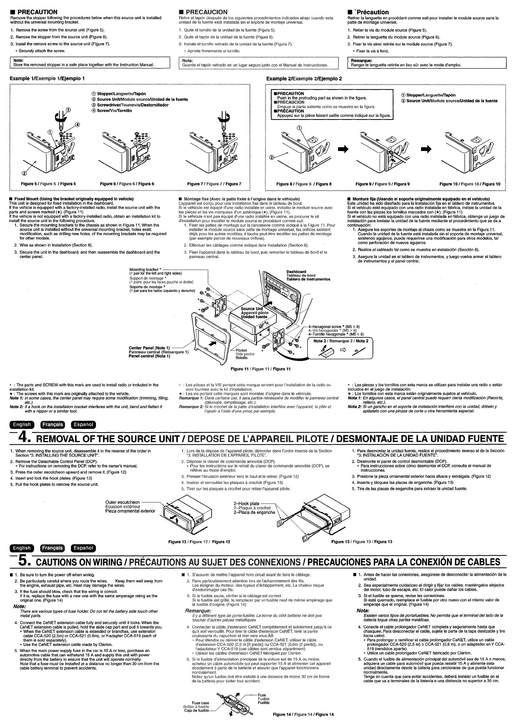 Clarion Dxz445 Guide 1999 Chrysler T 038 C Limited 38 Digital Transmission Fuse Box Diagram Array Proaudio Dxz645mp Users Manual 280pe2621ba 00 0 Rh Usermanual Wiki