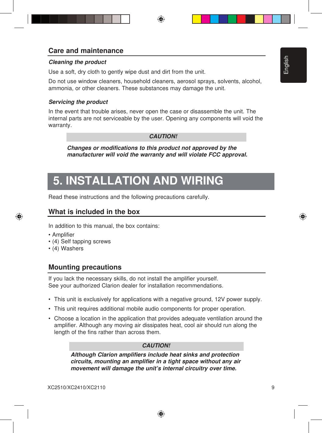 Channel Lifier Wiring Diagram On Clarion 5 Channel Speaker Wiring