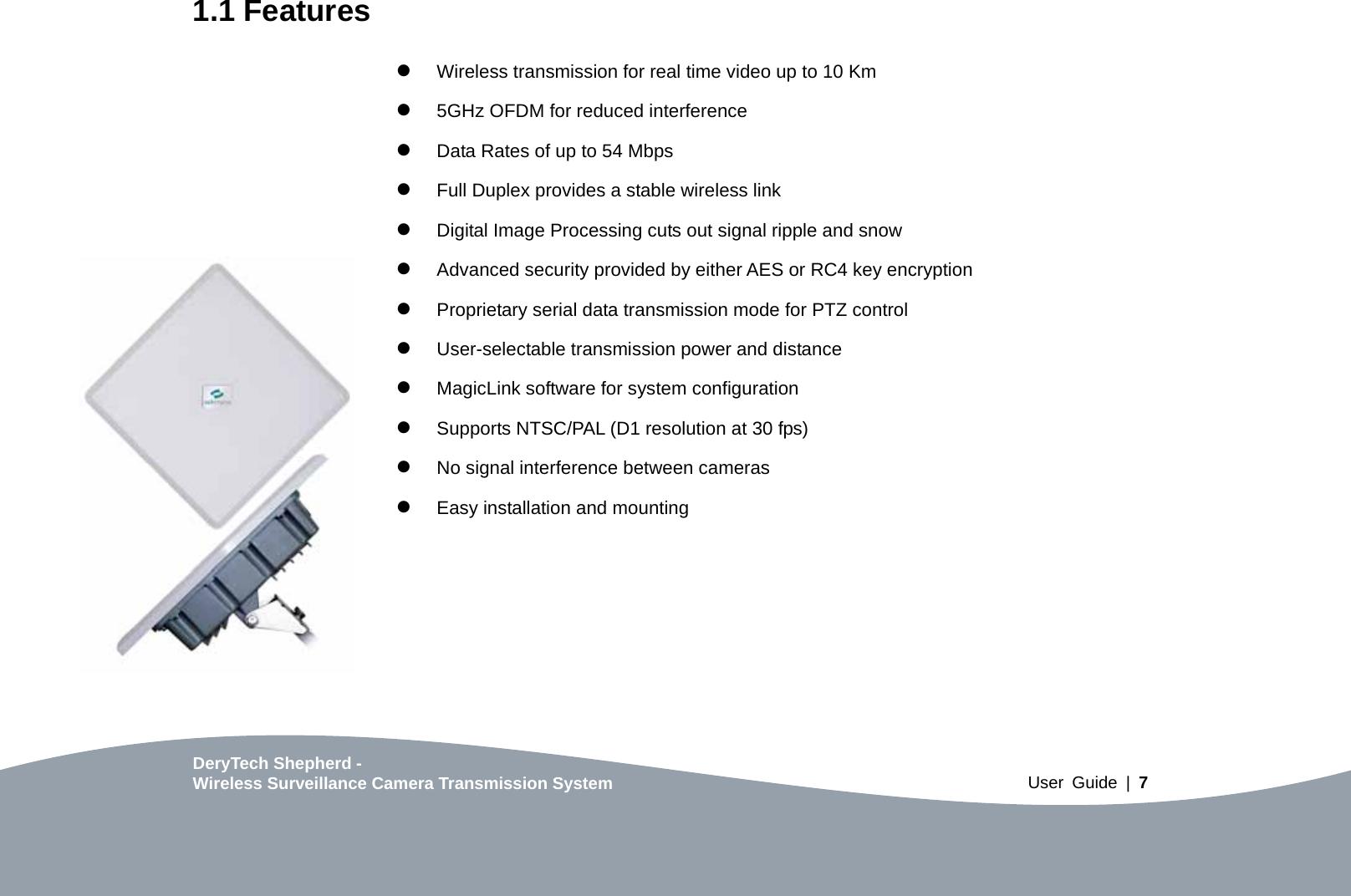 Cleervu Surveillance Systems WA5800 Wireless 5GHz Surveillance ...