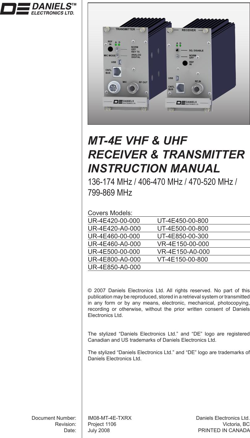 Gonset Radio Communication Manual Guide